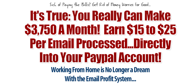 Best email processing jobs